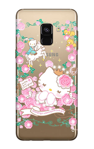 Sleepy Kitty Samsung A8 2018 Cases & Covers Online