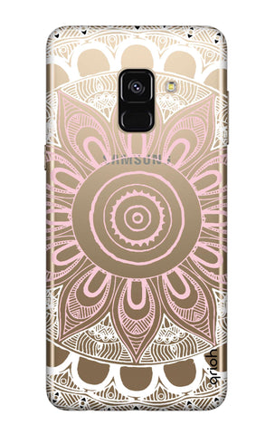 Pink Mandala Samsung A8 2018 Cases & Covers Online