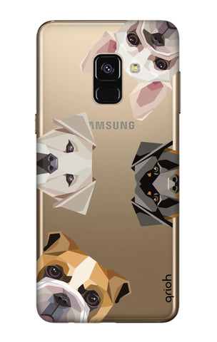 Geometric Dogs Samsung A8 2018 Cases & Covers Online