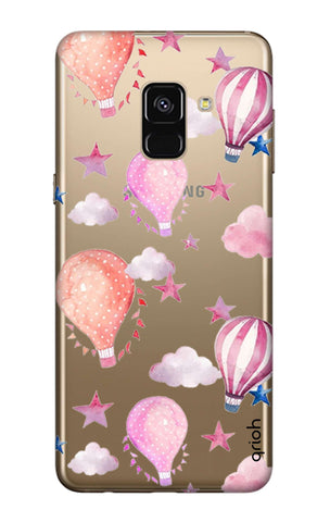 Flying Balloons Samsung A8 2018 Cases & Covers Online