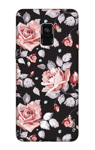 Shabby Chic Floral Samsung A8 Plus 2018 Cases & Covers Online