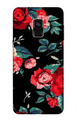 Wild Flowers Samsung A8 Plus 2018 Cases & Covers Online