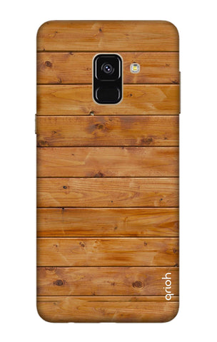 Natural Wood Samsung A8 Plus 2018 Cases & Covers Online
