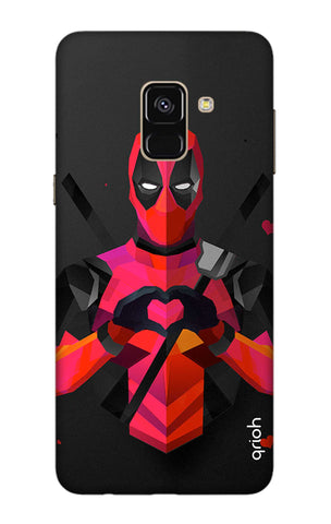 Valentine Deadpool Samsung A8 Plus 2018 Cases & Covers Online