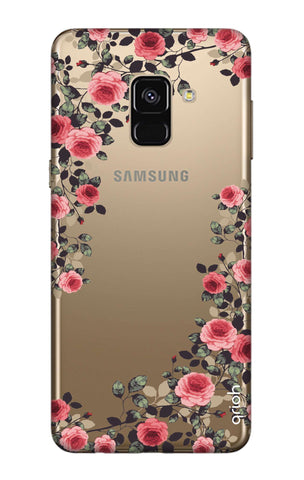 innovative design b2dae f6075 Floral French Case for Samsung A8 Plus 2018