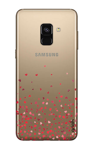 Floating Hearts Samsung A8 Plus 2018 Cases & Covers Online