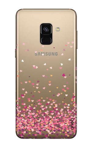 Cluster Of Hearts Samsung A8 Plus 2018 Cases & Covers Online