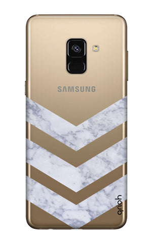 Marble Chevron Samsung A8 Plus 2018 Cases & Covers Online