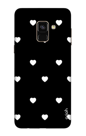 White Heart Samsung A5 2018 Cases & Covers Online