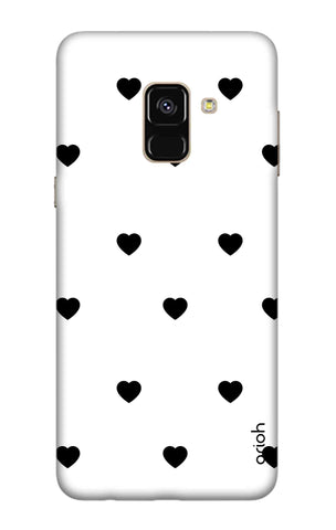 Black Heart Samsung A5 2018 Cases & Covers Online
