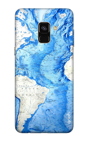 World Map Samsung A5 2018 Cases & Covers Online