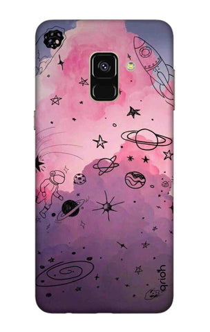 Space Doodles Art Samsung A5 2018 Cases & Covers Online