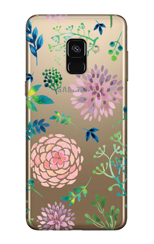 Lillies, Orchids And Leaves Samsung A7 2018 Cases & Covers Online