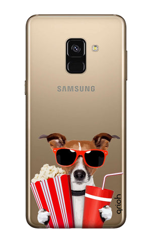 Dog Watching 3D Movie Samsung A7 2018 Cases & Covers Online
