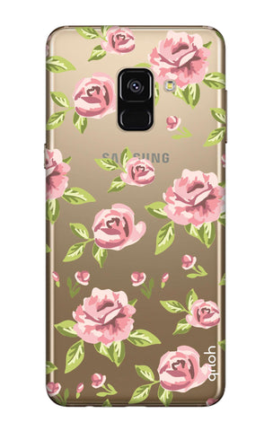 Elizabeth Era Floral Samsung A7 2018 Cases & Covers Online