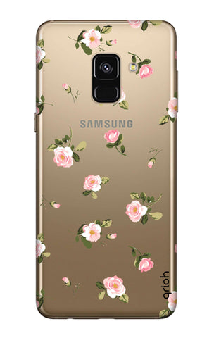 Pink Rose All Over Samsung A7 2018 Cases & Covers Online