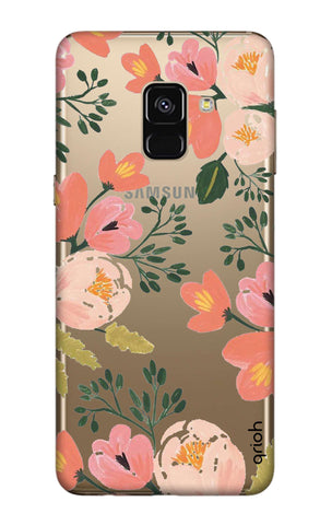 Painted Flora Samsung A7 2018 Cases & Covers Online