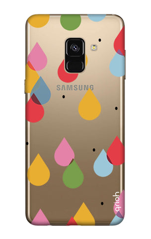 Colourful Drops Samsung A7 2018 Cases & Covers Online