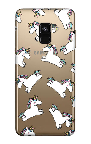 Jumping Unicorns Samsung A7 2018 Cases & Covers Online