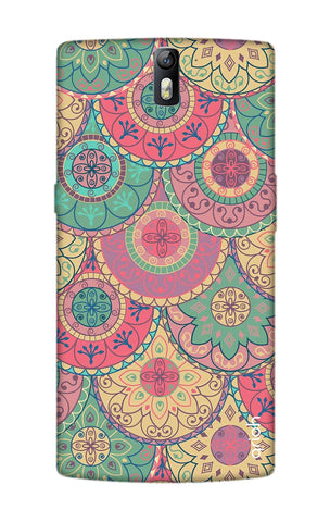 Colorful Mandala OnePlus One Cases & Covers Online