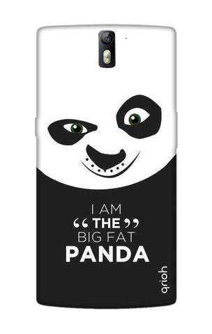 Big Fat Panda OnePlus One Cases & Covers Online