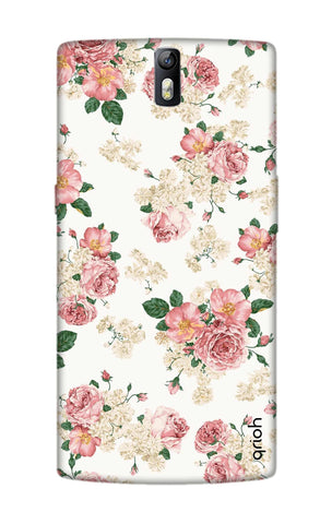 Floral Pattern OnePlus One Cases & Covers Online