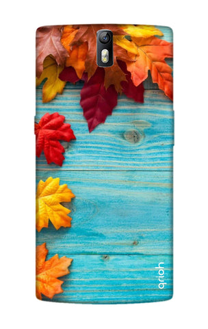 Fall Into Autumn OnePlus One Cases & Covers Online
