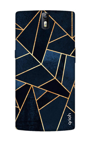 Abstract Navy OnePlus One Cases & Covers Online