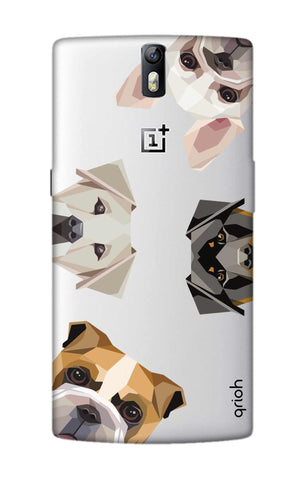 Geometric Dogs OnePlus One Cases & Covers Online