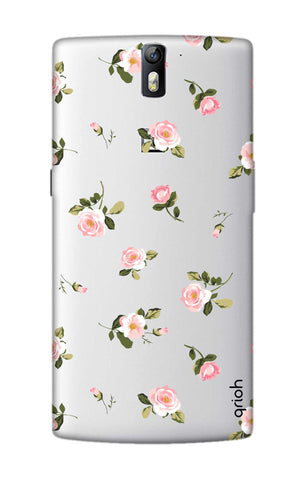 Pink Rose All Over OnePlus One Cases & Covers Online
