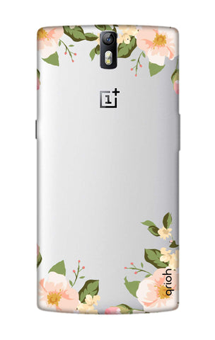 Flower In Corner OnePlus One Cases & Covers Online
