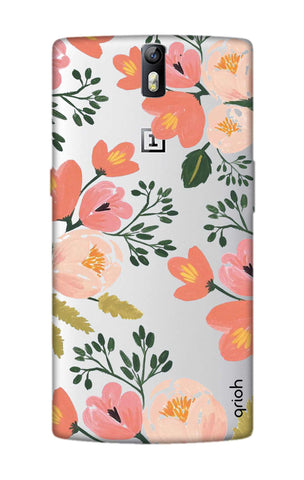 Painted Flora OnePlus One Cases & Covers Online
