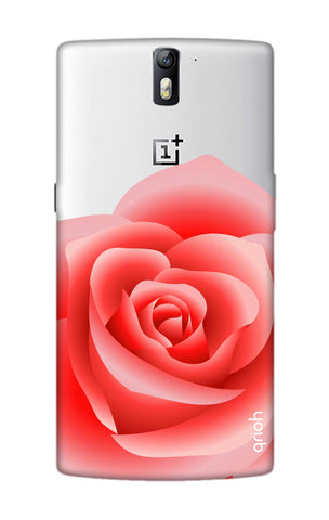 Peach Rose OnePlus One Cases & Covers Online