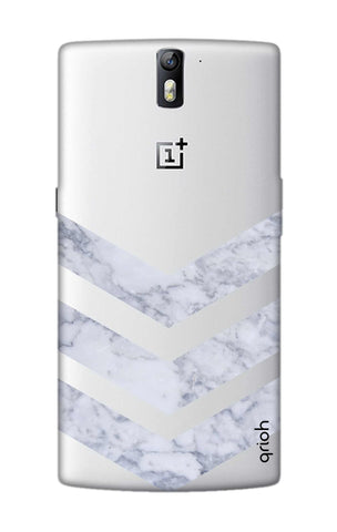 Marble Chevron OnePlus One Cases & Covers Online