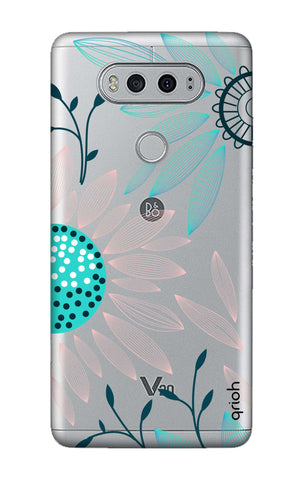 Pink And Blue Petals LG V20 Cases & Covers Online