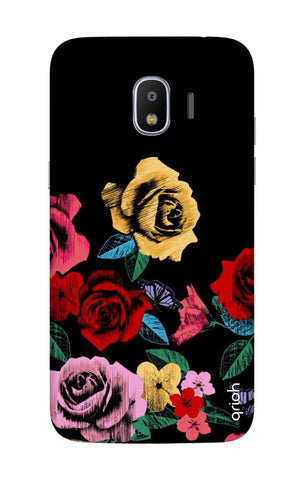 Colorful Flowers Samsung J2 Pro 2018 Cases & Covers Online