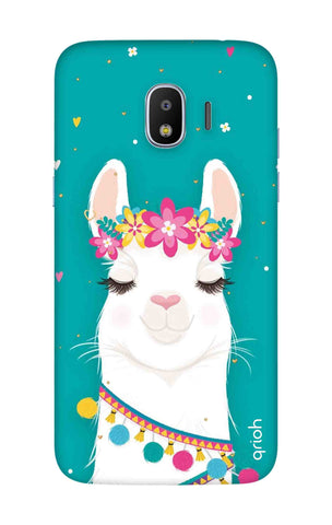 Cute Llama Samsung J2 Pro 2018 Cases & Covers Online