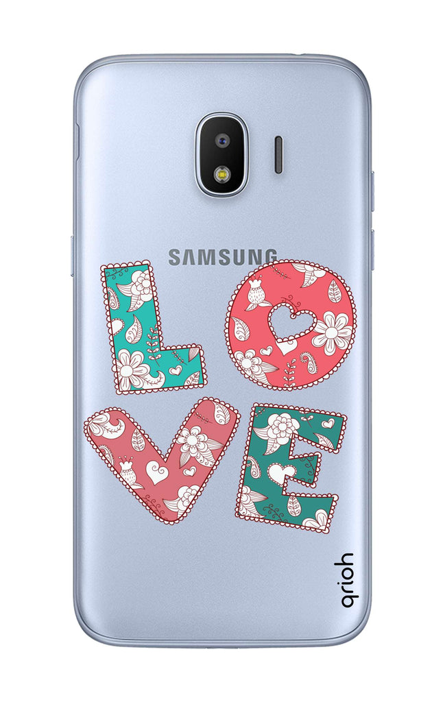 Love Text Case for Samsung J2 Pro 2018