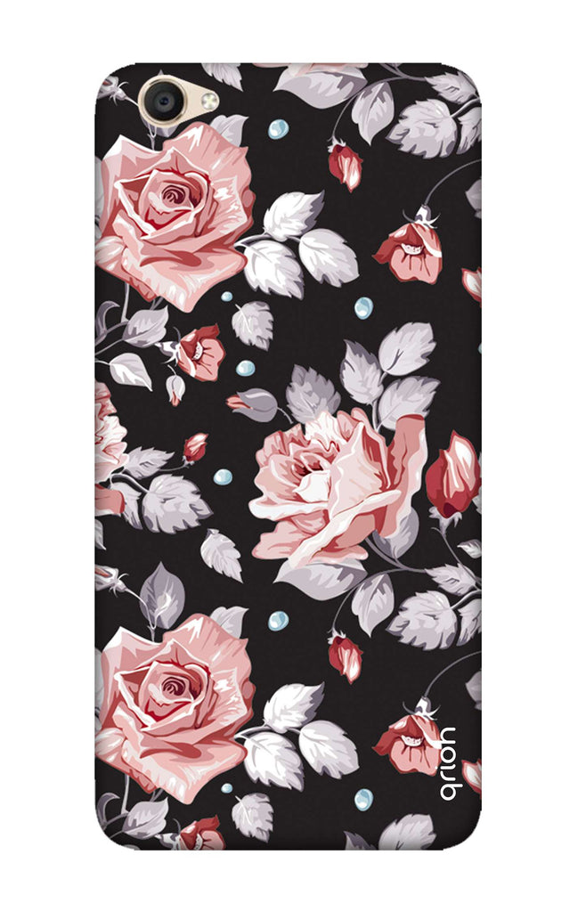 new concept ff246 6b082 Shabby Chic Floral Case for Vivo Y55s