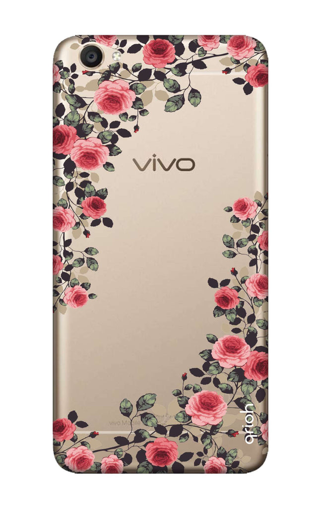 cheap for discount b806c bf7a8 Floral French Case for Vivo Y55s