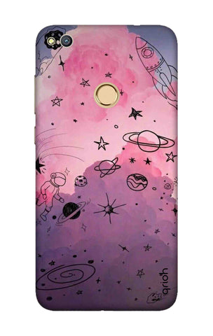 Space Doodles Art Honor 8 Lite Cases & Covers Online