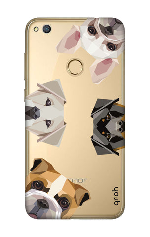 Geometric Dogs Honor 8 Lite Cases & Covers Online