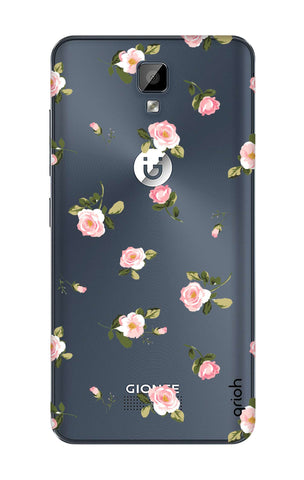 Pink Rose All Over Gionee P7 Max Cases & Covers Online