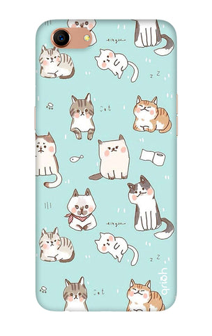 Cat Kingdom Oppo A83 Cases & Covers Online