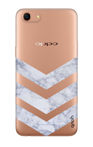 Marble Chevron Oppo A83 Cases & Covers Online