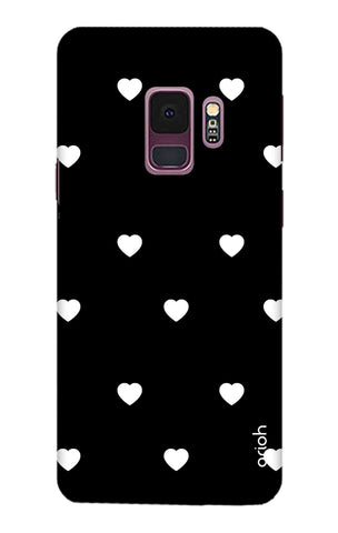 White Heart Samsung S9 Cases & Covers Online