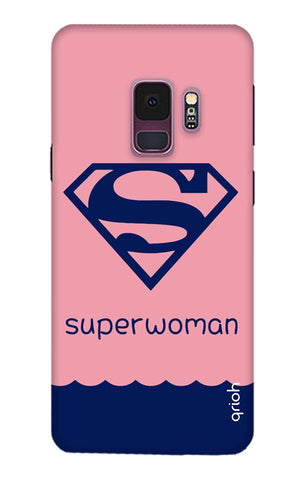 Be a Superwoman Samsung S9 Cases & Covers Online