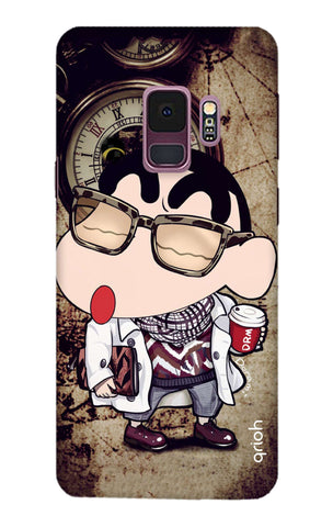 Nerdy Shinchan Samsung S9 Cases & Covers Online