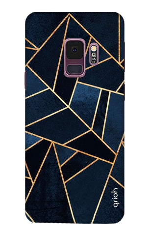 Abstract Navy Samsung S9 Cases & Covers Online