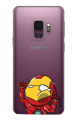 Iron Man Wall Bump Samsung S9 Cases & Covers Online
